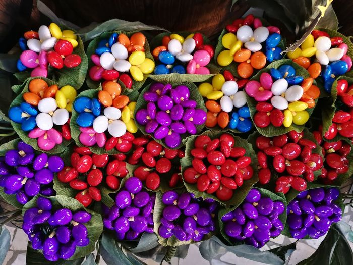 Large Group Of Objects Food Multi Colored Food And Drink Abundance Freshness Choice For Sale Variation Market Retail  Still Life High Angle View No People Container Market Stall Healthy Eating Wellbeing Collection Candy Sale Retail Display Temptation Sulmona