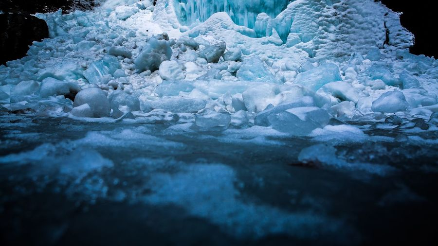 Ice Cold Temperature Winter Frozen Glacier Snow Beauty In Nature No People Outdoors Scenics Nature Iceberg - Ice Formation