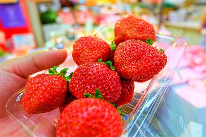 Food Food And Sweets Fresh Fresh And Sweet Freshness Fruit Japanese Food Japanese Sweets Strawberry Supermarket Sweet Sweet Strawberries Sweet Strawberry Yummy