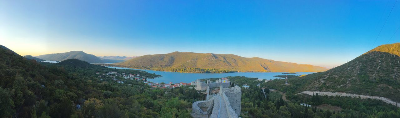 Ston Mali Ston Ancient Architecture Ancient Ruins Croatia Kroatien Beauty In Nature Nature Tranquil Scene