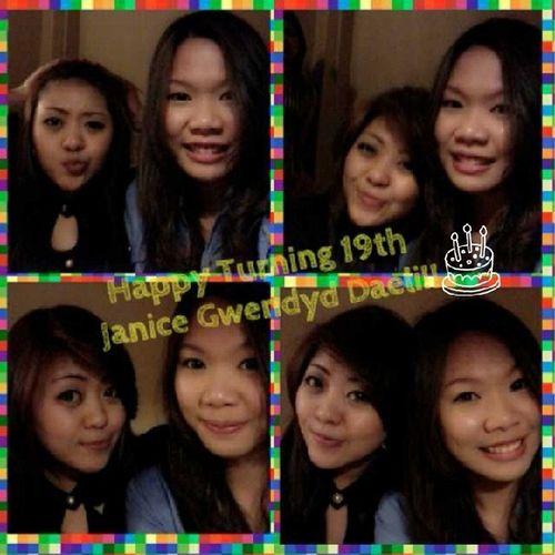 Happy tuning 19th dear montookkk!! @janicegwendyd ??? Instameg Birthdaygirl BestFriendsForLife Bestiestime