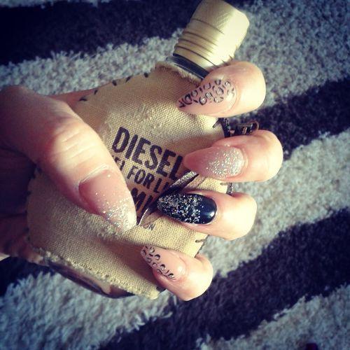 Nails <3 Ongles Nailart  Love