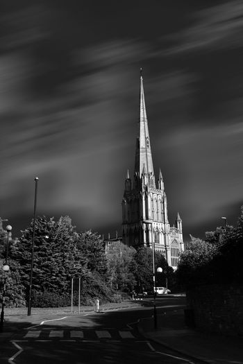 Last two weeks in Bristol Streetphotography Blackandwhite Monochrome Uk This Is What I Saw A Game Of Shadows Church