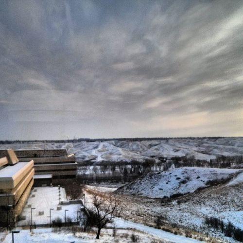 My university is more beautiful than yours. Uleth Yql Picoftheday Pictureoftheday Instagood Instanature University Ab Alberta Canada Explore Explorecanada Explorealberta Winter Snow Coulees Lethbridgelife Lethbridge