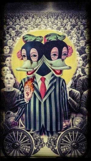 Surrealism Pop The Ameoba Crawd loved McDollar Duck...