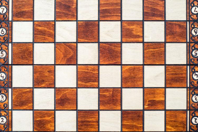 Full frame shot of chess board