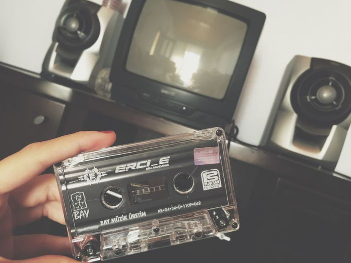 Retro Old Cassette Tape Oldpicture