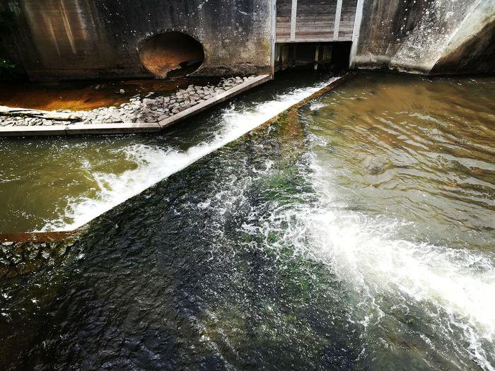 Watergate 2 River Gate Lock Watergate Water Wet Reflection