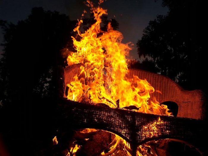 Burning love seat. ( Burning seat of Love)
