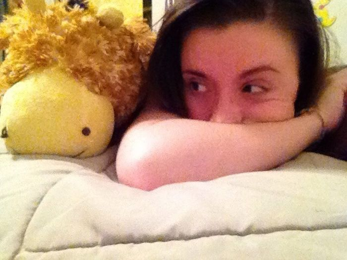 Layin In Bed W/ Hemingway