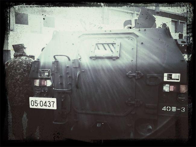 Army Car Blackandwhite Monochrome モノクロ 自衛隊