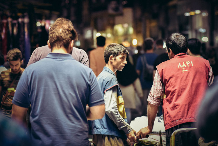 At Work Bazaar Market Shopping Adult Adults Only Crowd Delivery Man Grand Bazaar Iran Iran Street Photography Large Group Of People Men Only Men People Real Life Real People Rear View Streetphotography Urban Landscape