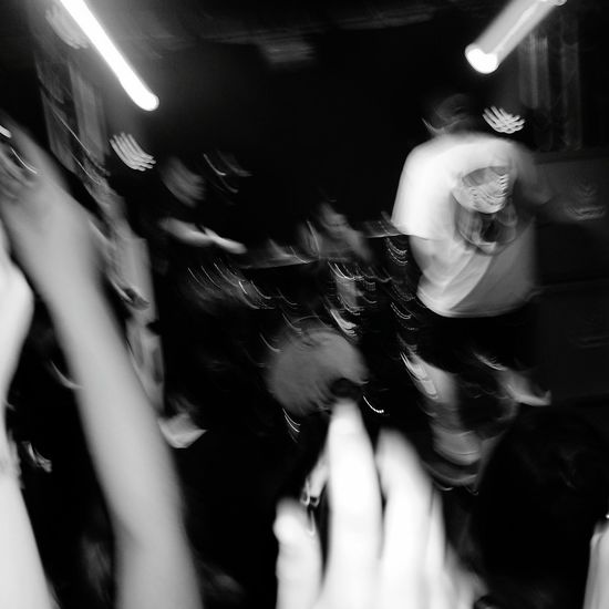 Poppunkmusic Photography Crowd Watching Concert Concert Photography Culture Vans Tie Dye Performance Newcastle Uk 02 Academy Ben Barlow Neck Deep Night Atmosphere Slow Shutter Motion Blur Blackandwhite Hanging Out Movement Photography Samsung Galaxy S3 Energetic Stranded Memory