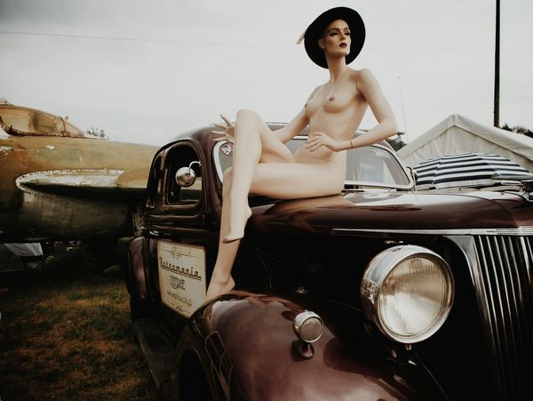 """""""You can leave your hat on..."""" Race61 Classic Car Vintage Cars The Amazing Human Body Mein Automoment The Moment - 2015 EyeEm Awards Streetphotography My Best Photo 2015"""