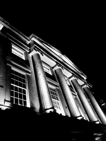 Architecture Low Angle View Building Exterior Built Structure Façade Window No People Night City
