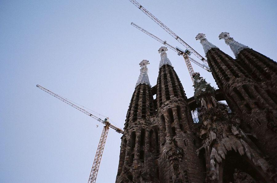 Kodak Portra Barcelona Sagrada Familia Traveling