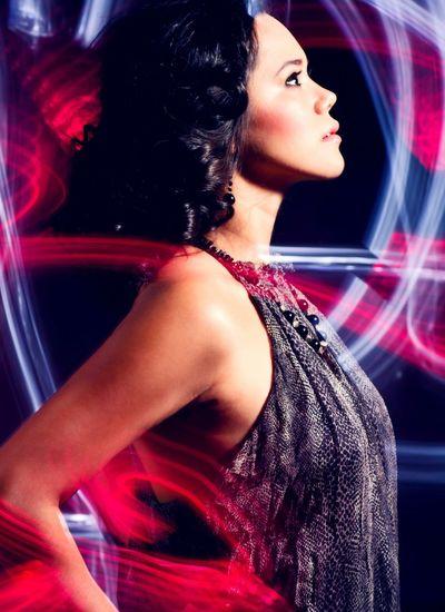 Paintingwithlight Fashionphotography Fashion Fashion&love&beauty Fashion&style Zara Zaradress Blue Red