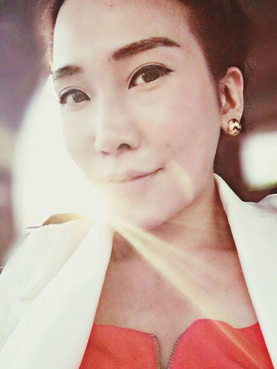 Chinese Girl Self Portrait Enjoying Life That's Me