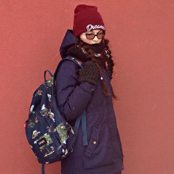 Hi! Ryazan Ryazan' Girl Winter Wintertime Girls That's Me Starting A Trip Places....  City Life