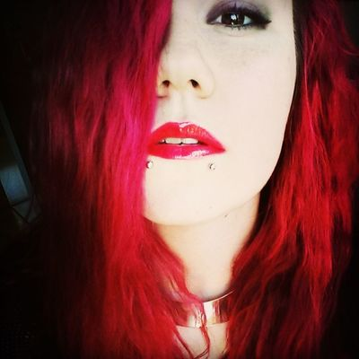 Hop on the happy train. Count to ten. Let's sing a song based on lies. Beauty Piercings Redhead Self Portrait