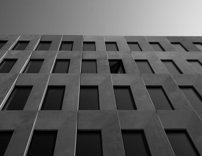 Window Built Structure Architecture Building Exterior Low Angle View Building Window No People In A Row Day Repetition City Outdoors Tall - High Pattern