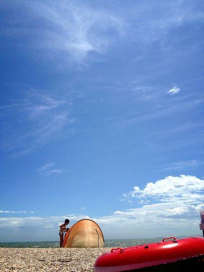 Enjoying Life On The Beach 房総