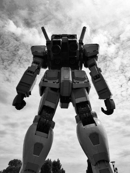 Blackandwhite Monochrome Bnw Streetphotography Streetphoto_bw Gundam Architecture