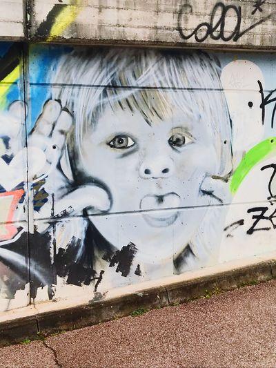 Art is Everywhere Street Art Streetphotography Creativity Graffiti Art And Craft No People Representation Human Representation Wall - Building Feature