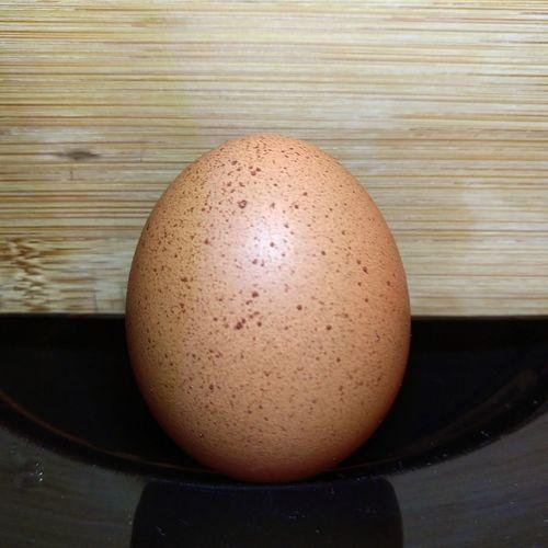 freckled egg