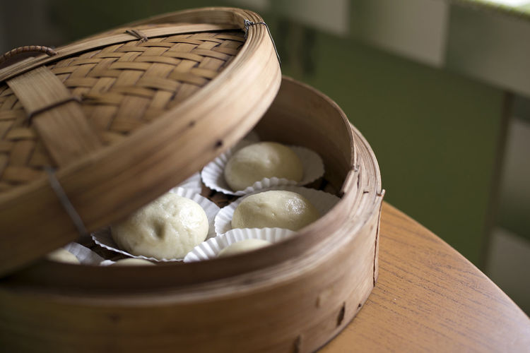 homemade bun (包) ASIA Basket Bun Chinese Food Close-up Dimsum Home Home Cooking Home Is Where The Art Is Kitchen Still Life 包子