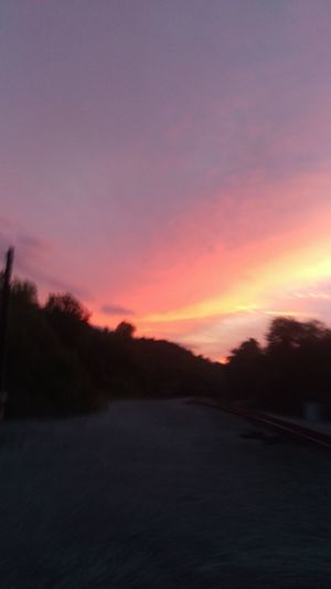 Sunset Scenics Nature No People Beauty In Nature Tranquility Outdoors Sky Day Multi Colored