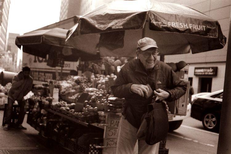 Thief Streetphotography Up Close Street Photography Blackandwhite Filmisnotdead Film Photography 35mm Film 35mm Thief Sneaky Fruit Stand NYC New York City Fresh On Eyeem  The Street Photographer - 2016 EyeEm Awards