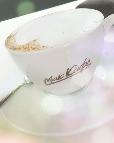 MacCafe Macdonalds Macdonald's Coffee Breakfast Cappuccino First Eyeem Photo