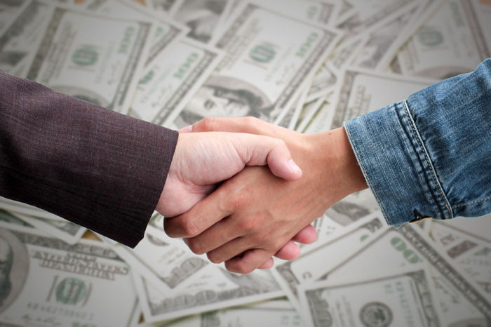 two businessmans handshake together and banknote succeed in getting capital from capitalists. EyeEm Best Shots EyeEmNewHere EyeEm Gallery Agreement Apply Banknote Business Capital Cash Cooperation Corporate Business Couple - Relationship Currency Finance Human Body Part Human Hand Men Paper Currency Savings Teamwork Togetherness Two People Unity