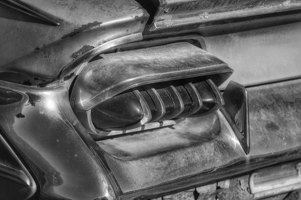 it just stopped turning Photography Blackandwhite Contrast Vintage Cars Taillight Abstract Futuristic Patterns