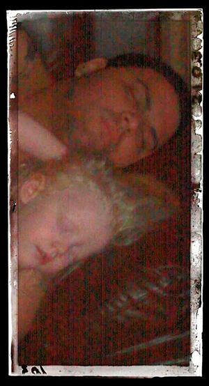 mi bb y yo en la dormilona