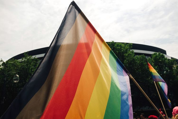 Love wins Flags Flags In The Wind  Lgbtq CSD Kudamm Freedom Lifestyles Streetphotography Colorful CSD-Berlin CSD Berlin 2017 Love Wins Lgbt Lgbt Pride Gay Marriage  Germany Australia Protest Love Gay Pride Parade Rainbow Rainbow Flag Be. Ready. Multi Colored Flag Outdoors No People Sky Close-up