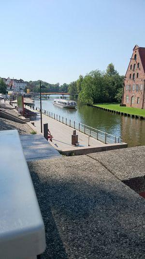 Heute bin ich nach Lübeck gefahren.
