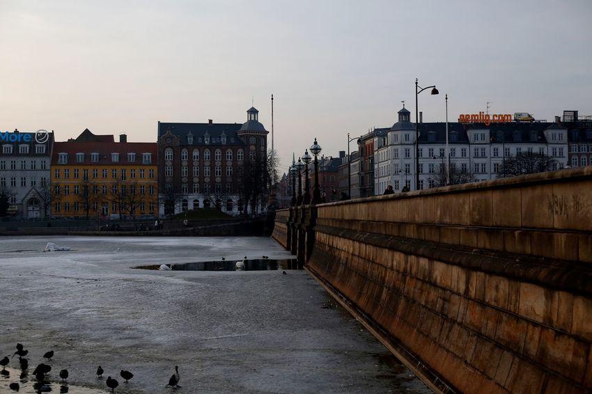 bridge - Copenhagen Architecture Building Exterior Built Structure Sky Outdoors City Day Cityscape
