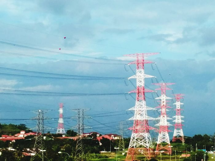 Electricity tower Sky Nature Technology Plant Water Fuel And Power Generation Cloud - Sky Electricity  Connection Outdoors Electricity Pylon Day Tower Communication Environment Cable Power Supply Global Communications