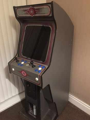 Arcade Machine Technology Indoors  No People Communication Screen Close-up Table