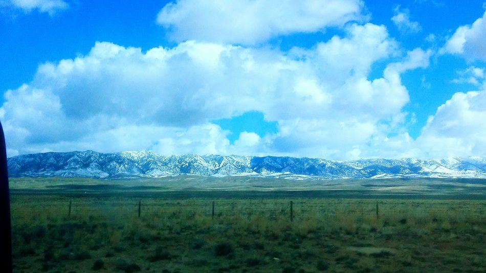 Wyoming Landscape Cloudporn Mountains Beautiful Nature Blue Sky Amazing Snowy Mountains Taking Photos Worktravel Fiance❤️ Love Timetogether