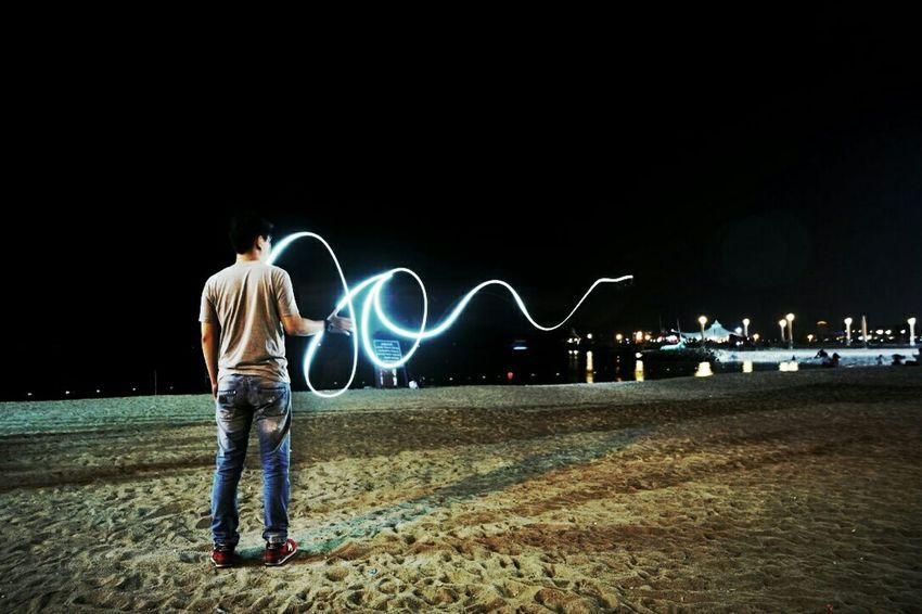 Longexposure Photography Beachphotography Light Trails