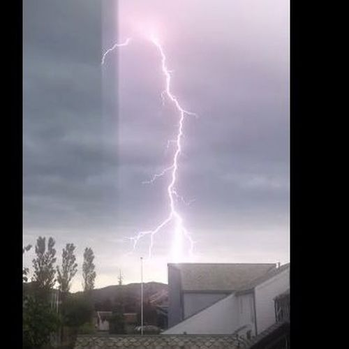 Lightning Clouds Sky_collection Weather