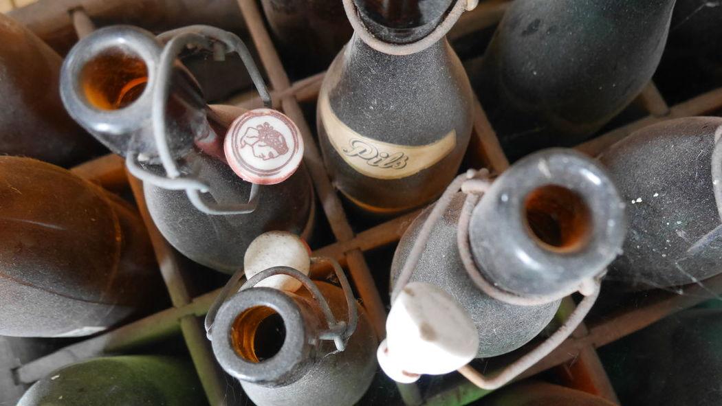 Arrangement Beer Beers Bierflaschen Bottle Bottle Art Bottles Bottles !!!! Bottles Collection Close-up Dust Dusty Dusty Bottles Flaschen  Group Of Objects Large Group Of Objects No People Old Bottles Pils Pilsener STAUB Still Life Vintage Vintage Bottles