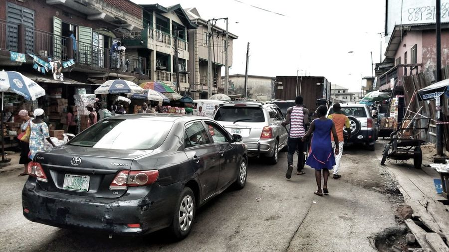 BBusy streets and traffic. Lagos, Nigeria Lagos Nigeria Busy Streets And Traffic The Street Photographer - 2018 EyeEm Awards Streetphotography People