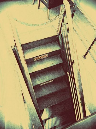 Stairs Upstairs Black And White Photography Sketch