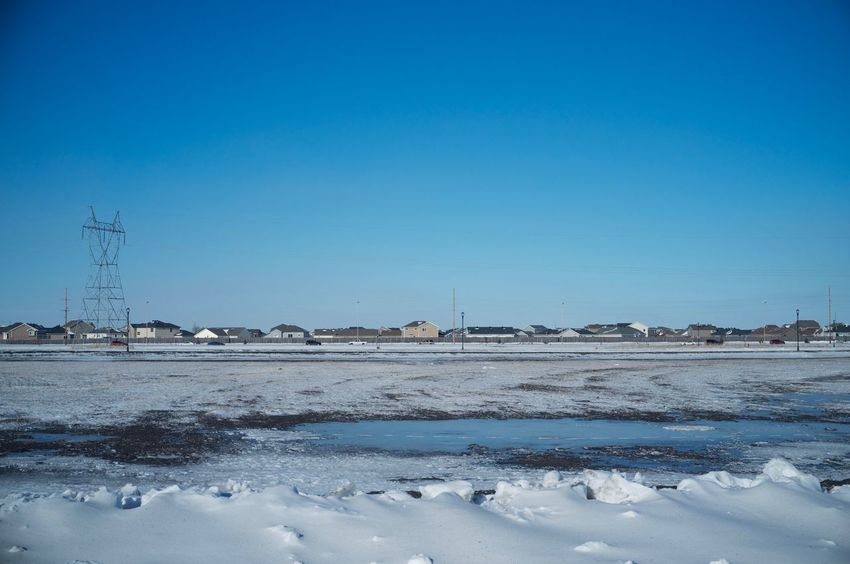 2-12-16 Cold Cold Temperature Copy Space Distant Fargo Horizon Over Water North Dakota Outdoors Rippled Scenics Shore Sky South Fargo Tranquil Scene Tranquility Vignette Water Weather Winter