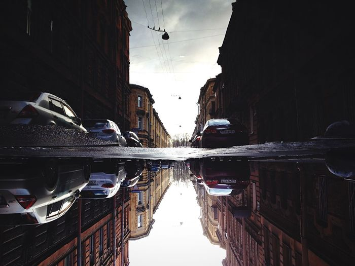 <|> First Eyeem Photo Reflection Spb Streetphotography Streetview Architecture Mobilephotography