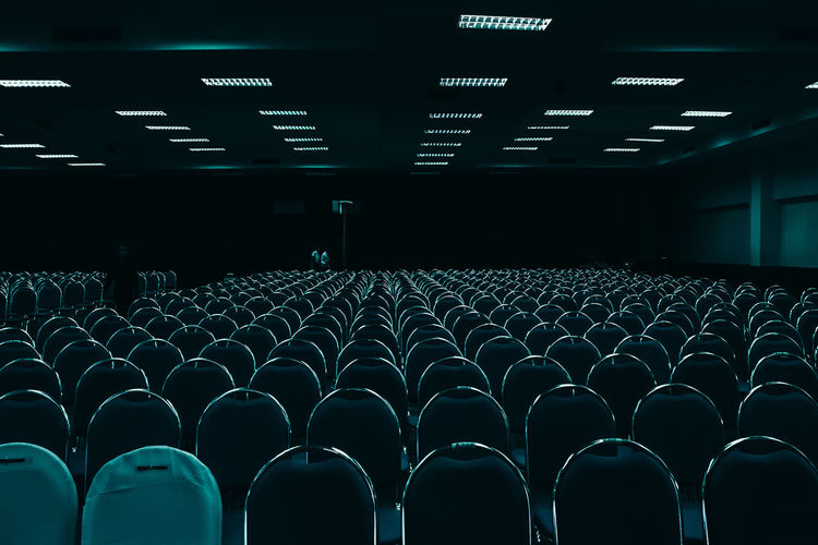 Audience Auditorium Chair Day Empty Film Industry In A Row Indoors  Large Group Of Objects People Seat